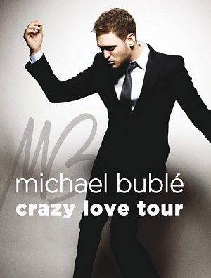 "Last weekend, JB  and I traveled to Louisville to see the Michael Buble's ""Crazy Love"" Tour.  We were treated to a fabulous show by a spectacular and charismatic performer.  Michael also embodied several keys to living in the zone.  Here are my favorite five:"