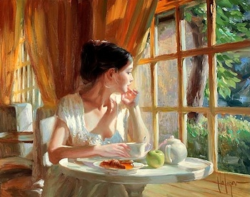 Contemplative Beauty By Vladimir Volegov