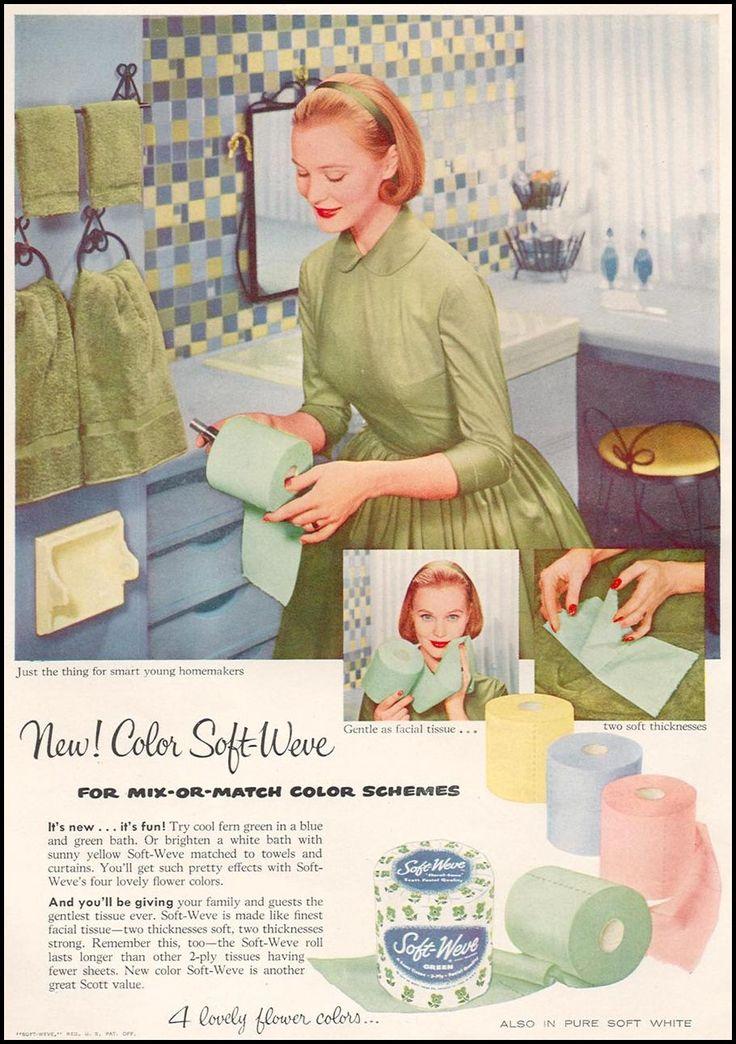 1960u0027s ad for scott toilet paper