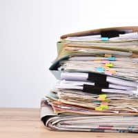 Attack those piles and clear that clutter