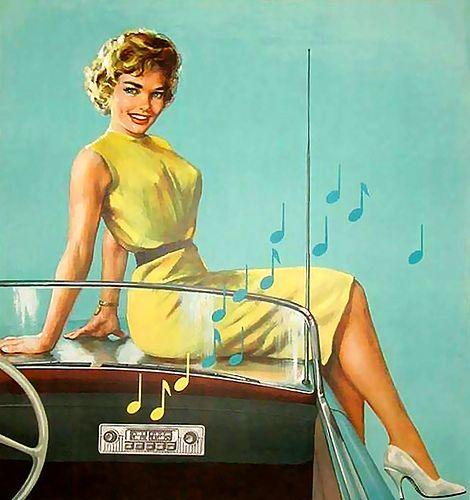 Vintage Ad - Phillips Auto Radio