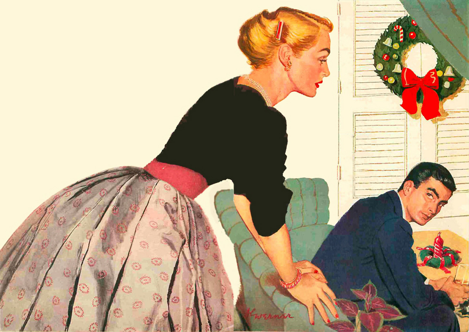 The Prodigal in Today's Woman magazine in December 1952 by Al Werner