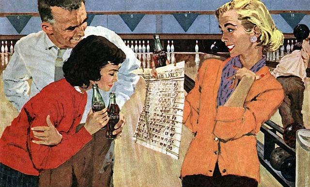 Mar 1958_cocacola ad_by Bernie Fuchs