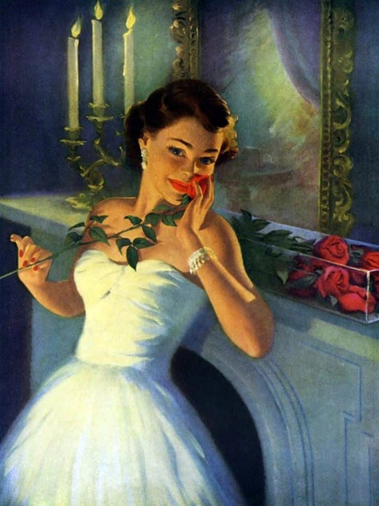 Lessons Learned are Like Roses from My Year (Art by by Art Fraham)