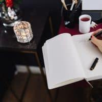 writing by hand helps me create a life I love