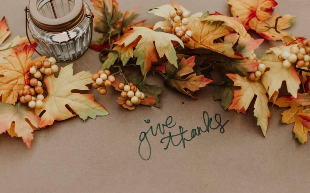 Grateful Tidings Help Nourish Your Life