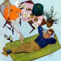 Kurt Ard for Saturday Evening Post 1956