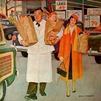 Saturday Evening Post Dick Sargent 1956