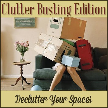 From the 30 Days to Clarity Family of Online Courses - Clearing Clutter with Clutter Busting