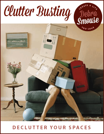 Claim YOUR Sacred Space by clearing clutter!