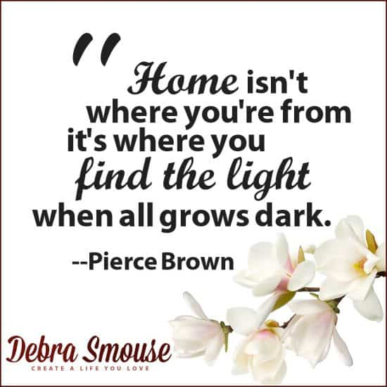 Pierce Brown on Light and Home