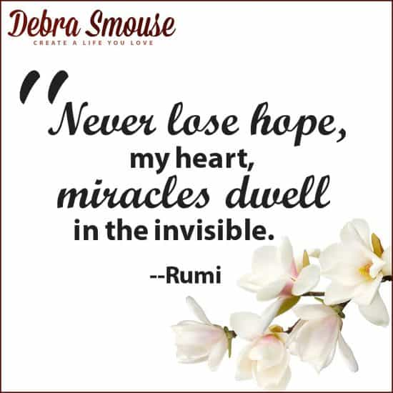 miracles dwell in the invisible